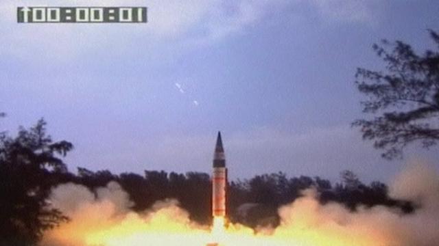 Séquences choisies - Tir d'un missile en Inde