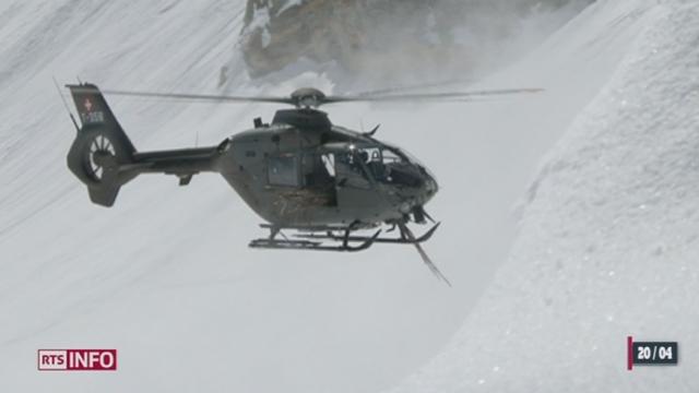 La préparation du parcours de la Patrouille des glaciers a été retardée par la météo de ces derniers jours