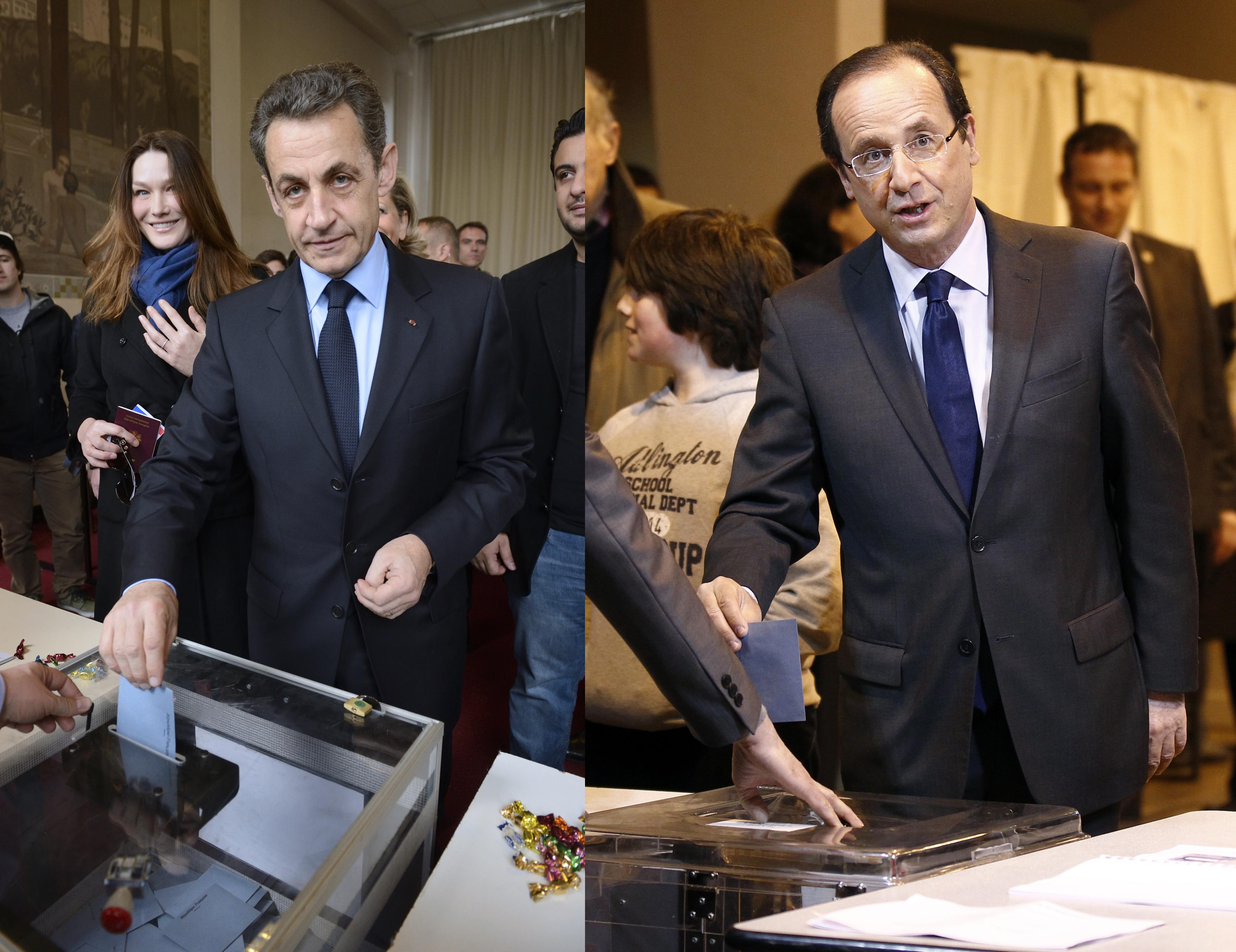 Les candidats à la présidentielle ont voté dans leurs fiefs rts