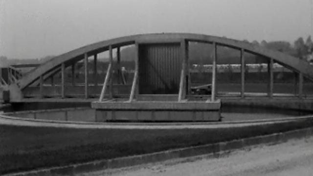 Station d'épuration de Vidy [TSR (Carrefour du 12.10.1965)]