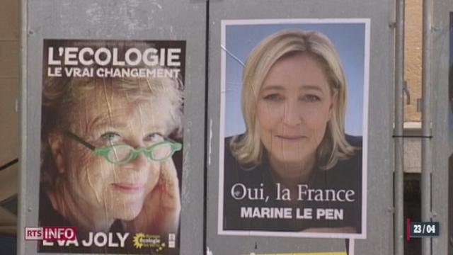 France / élections présidentielles: le Front national cherche aujourd'hui à se forger une image plus respectable
