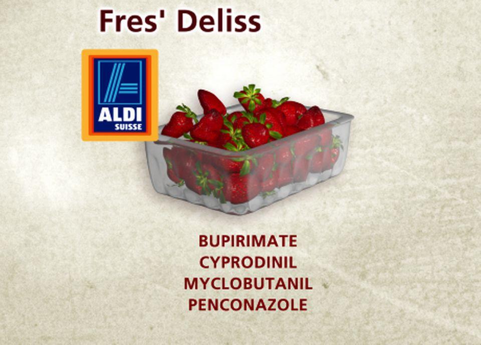Fres' Deliss chez Aldi [Capture d'écran - RTS]