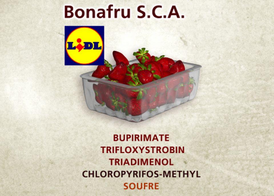 Bonafru S.C.A. chez LIDL [Capture d'écran - RTS]