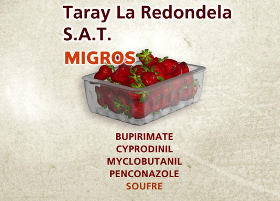 Taray La Redondela S.A.T. chez Migros [Capture d'écran - RTS]