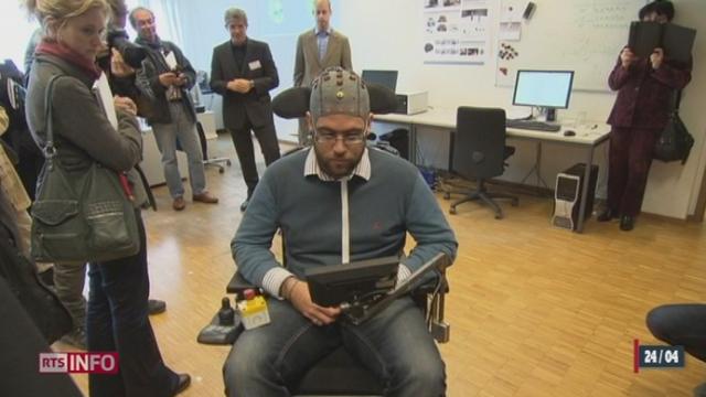 EPFL: un patient a pu commander un robot par la seule force de la pensée