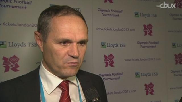 La Suisse figure dans le groupe B, avec le Mexique, la Corée du Sud et le Gabon dans le tournoi olympique de Londres.
