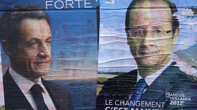 La campagne pour le deuxième tour des élections présidentielles françaises bat son plein. [Joel Saget]