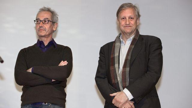 David Weiss (droite) du duo Fischli-Weiss est décédé à Zurich. [Martin Ruetschi - Keystone]
