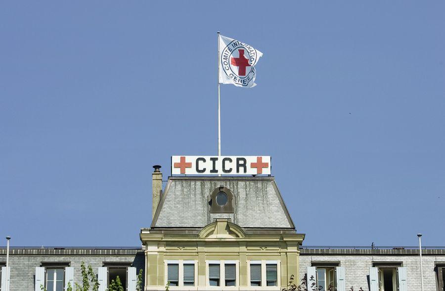 Le siège du Comité international de la Croix-Rouge (CICR) à Genève.