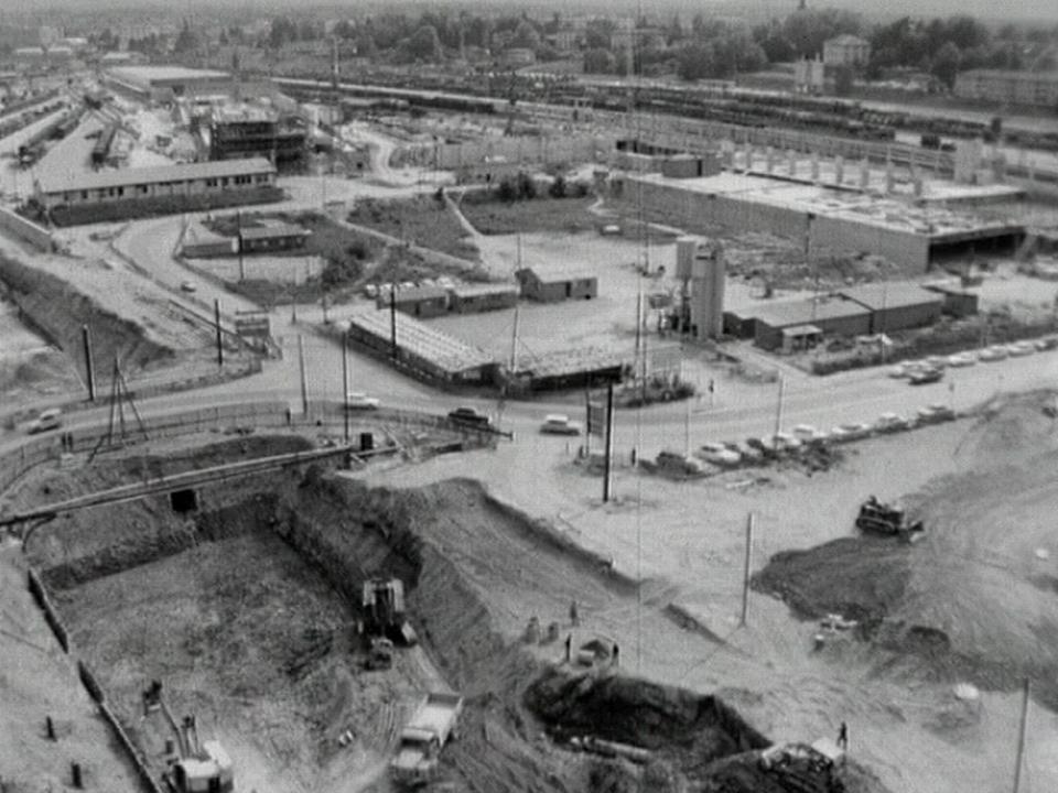 La Praille en 1965 [TSR 1965]