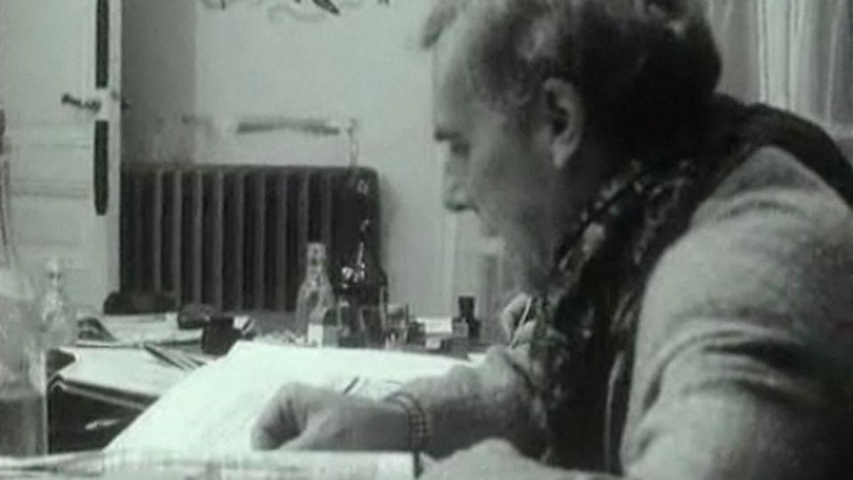 Roland Moisan, Le canard enchaîné - RTS Archives. [RTS]