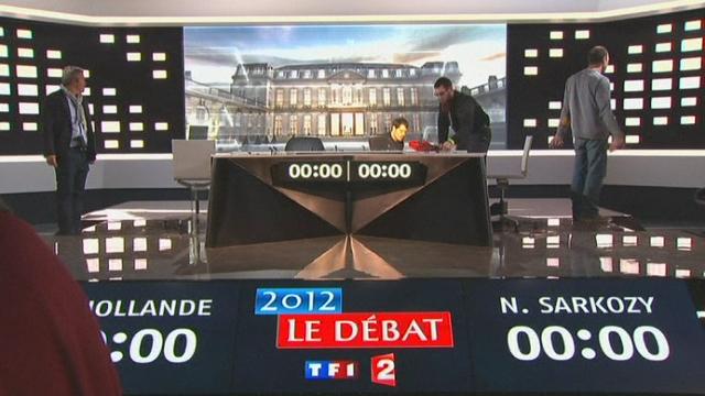 Séquences choisies - préparation du débat présidentiel