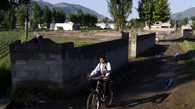 Abbottabad, un an après la mort de Ben Laden. [Sultan Dogar - Keystone]
