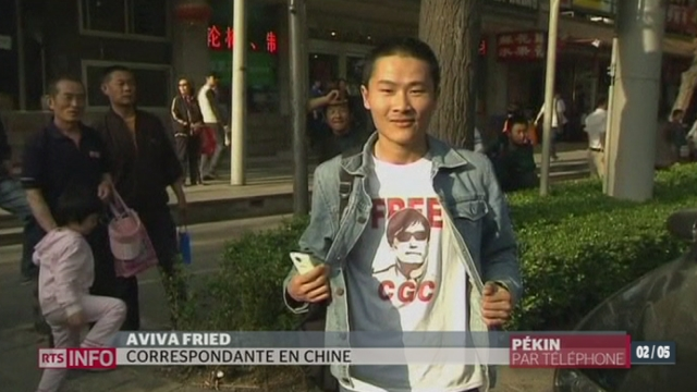 Avenir du dissident chinois Chen Guangchen: le point avec Aviva Fried, en direct de Pekin