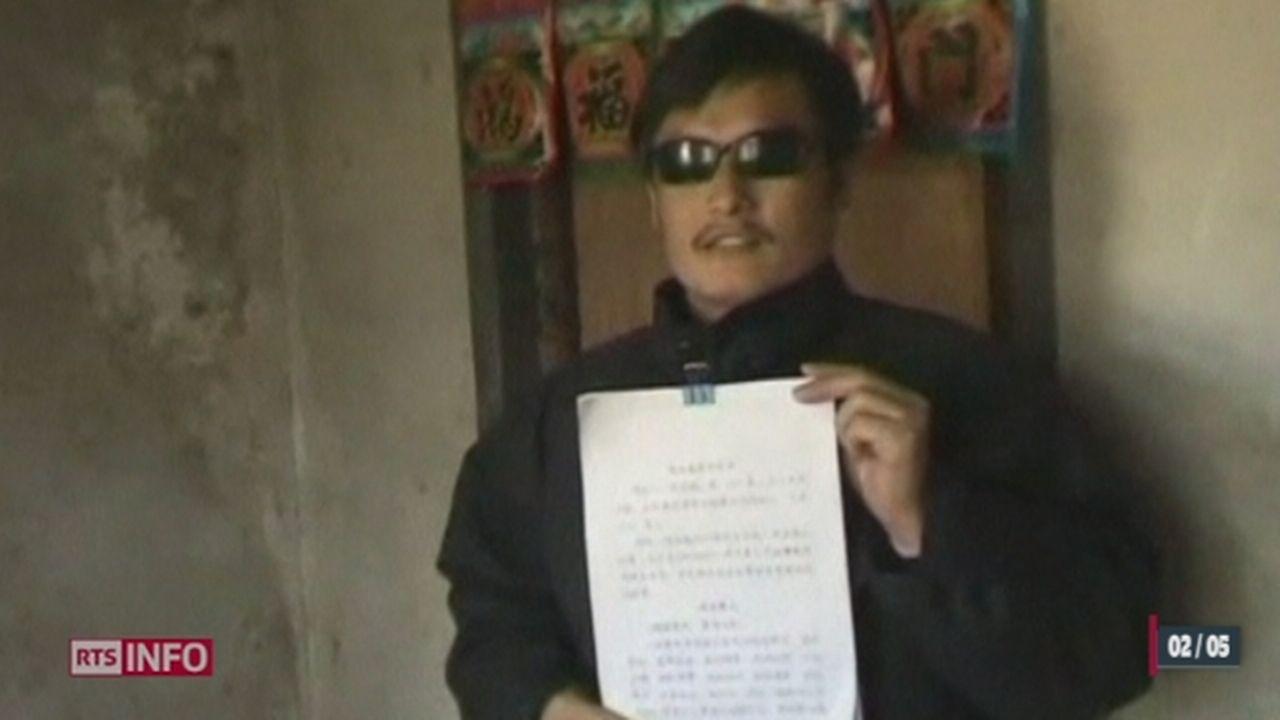 Chine: le dissident Chen Guangchen a quitté l'ambassade des Etats-Unis de Pékin, où il avait trouvé refuge