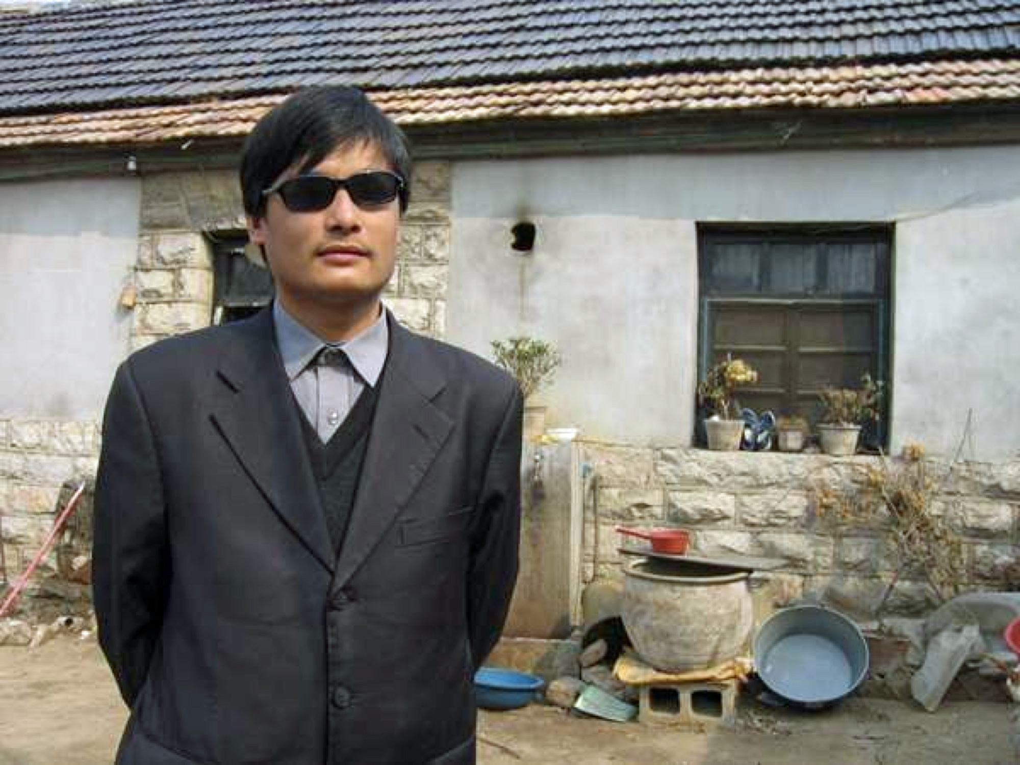 Le dissident chinois Chen Guangcheng.