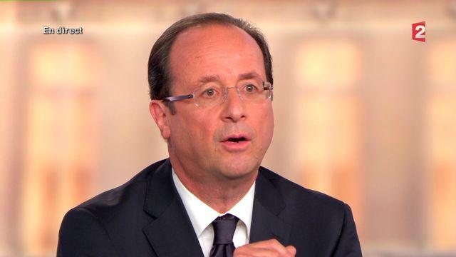 François Hollande [France 2 Télévision - Reuters]