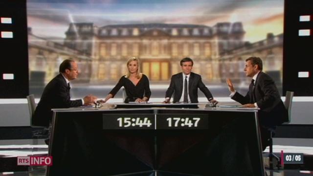 France/Présidentielle 2012: près de 18 millions de télespectateurs ont assisté au débat entre François Hollande et Nicolas Sarkozy