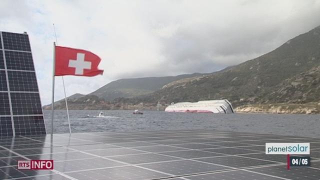 Tour du monde de PlanetSolar: reportage au sein du catamaran solaire, à quelques jours de la fin de son périple