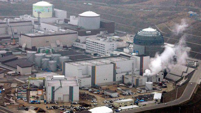 La centrale de Tomari photographiée en avril 2008. [Kyodo Kyodo - Reuters]