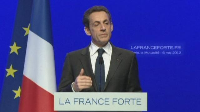 La déclaration de Nicolas Sarkozy