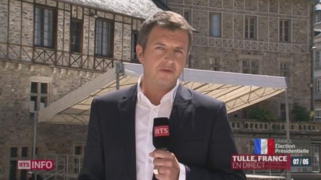 Election présidentielle française: les précisions de Michel Beuret, en direct de Tulle