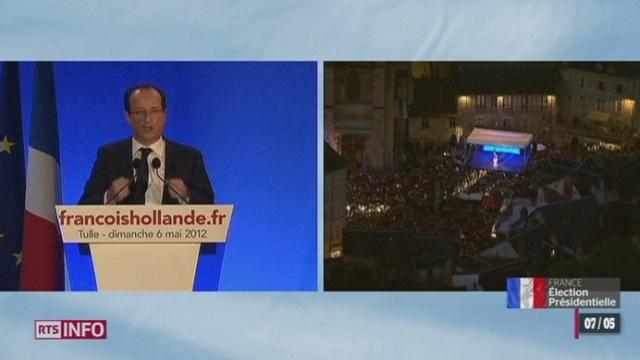 Election présidentielle française: le discours de François Hollande sous le signe de la justice et de la jeunesse
