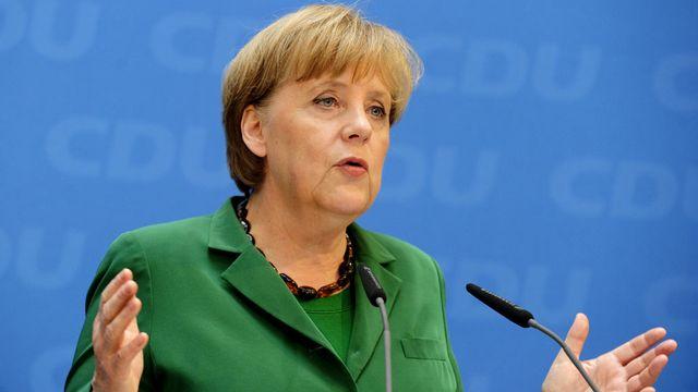 La chancelière allemande, Angela Merkel. [John MacDougall - AFP]