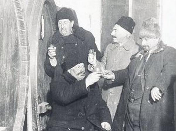 Les vignerons de Chabag.