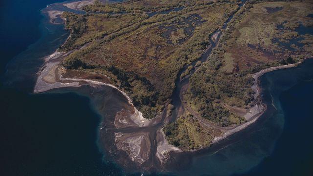 Le lac Taupo en Nouvelle-Zélande. [Klaus D. Francke - AFP]