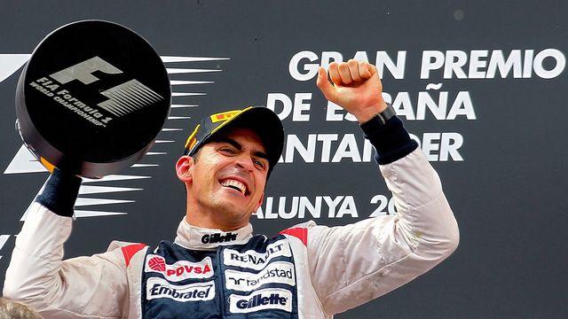 Pastor Maldonado a remporté le premier GP de sa carrière. [Srdjan Suki  - Keystone]