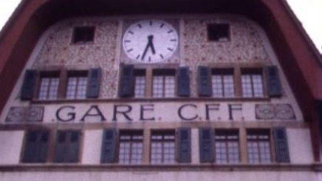 La gare de Vallorbe [TSR 1977]
