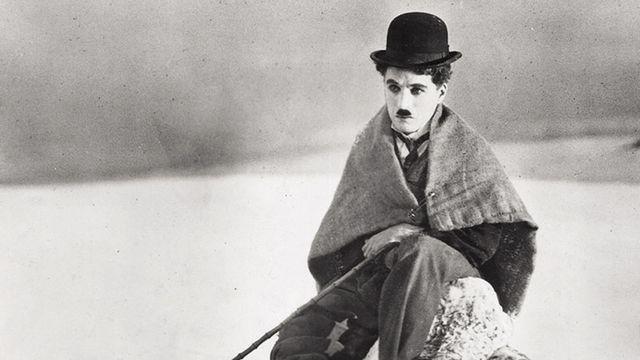 """La Ruée vers l'Or"" (1925) de Charlie Chaplin [The Roy Export Company Establishment - Keystone]"
