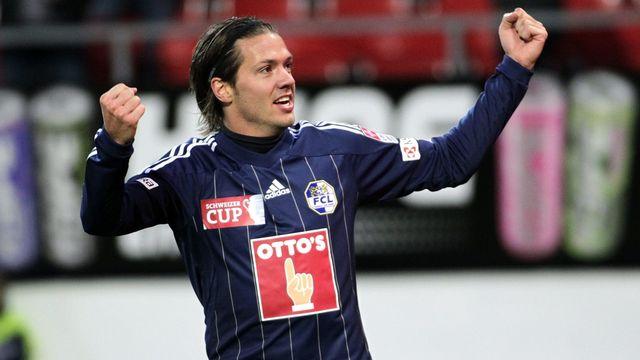 Déjà buteur en demi-finale contre Sion (1-0), Adrian Winter sera un des atouts majeurs du coach lucernois Murat Yakin. [Maxime Schmid - Keystone]