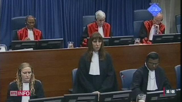 Le procès de Ratko Mladic s'ouvre devant le Tribunal pénal international pour l'ex-Yougoslavie à La Haye (Pays-Bas)