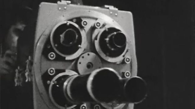 Caméra TV 1958 [Source photo: TSR]
