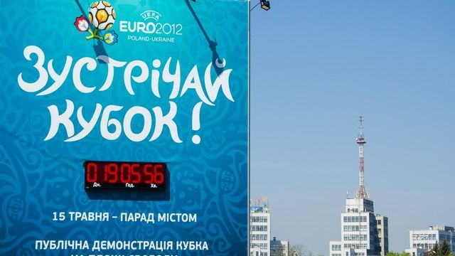 Faut-il boycotter l'Eurofoot 2012 en Ukraine? [Igor Chekachko / AFP]