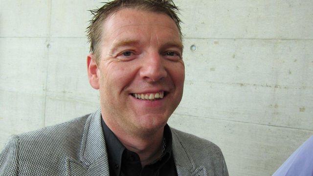 Le journaliste sportif de la RTS Joël Robert. [RTS]