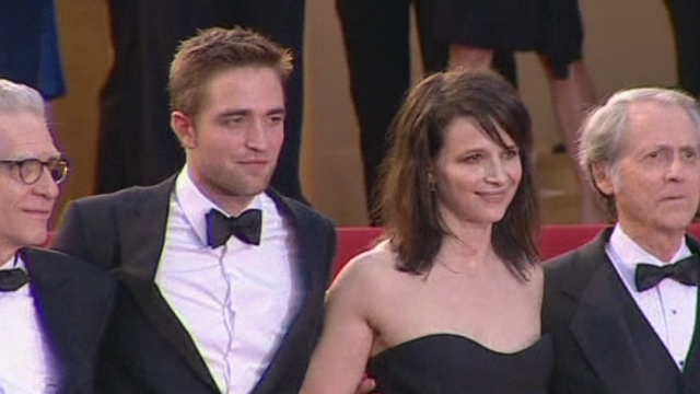 Séquences choisies - Robert Pattinson sur le tapis rouge