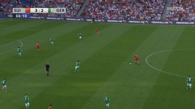 Match amical / Suisse-Allemagne (4-2) : l'équipe de Suisse reprend l'ascendant dans la foulée