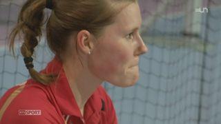 Objectif Londres: rencontre Sabrina Jaquet, joueuse de Badminton