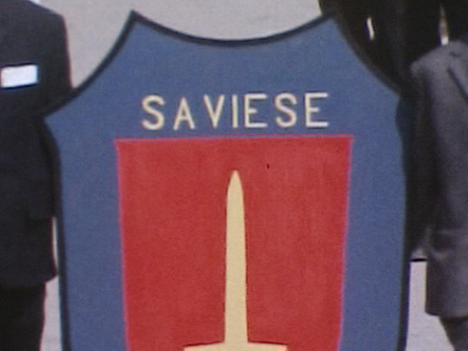 Blason de la commune de Savièse [TSR 1970]