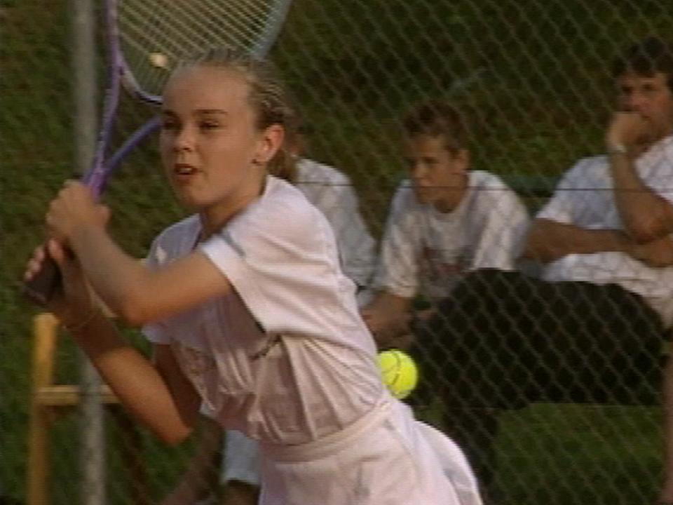 Martina Hingis en 1997. [RTS]