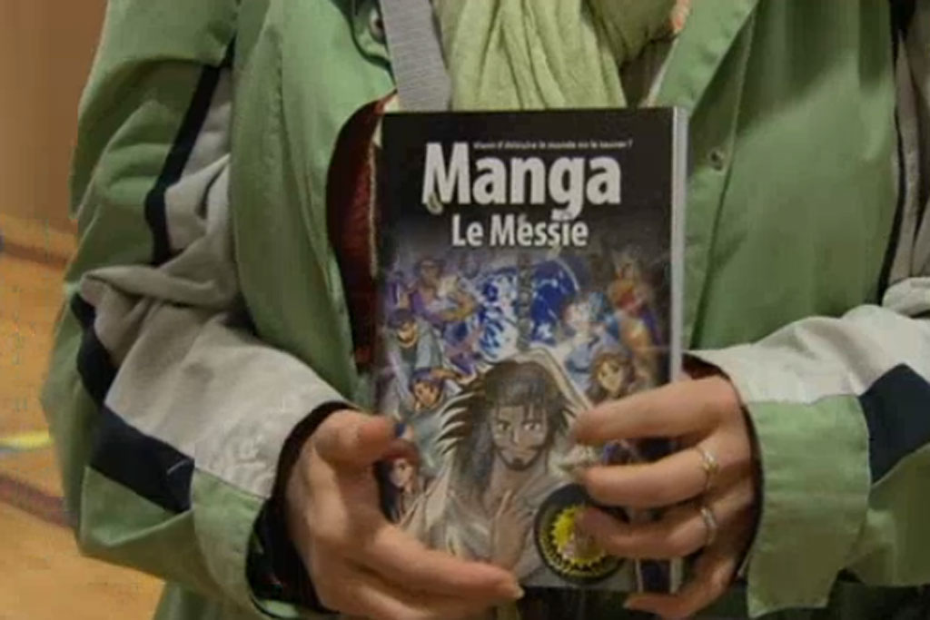 L'Evangile, version manga.