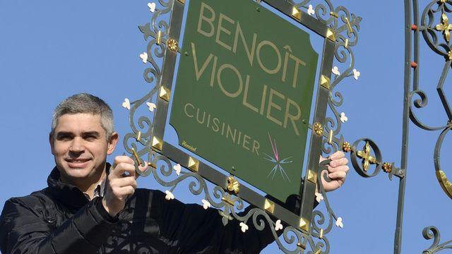 Le cuisinier Benoît Violier. [Marcel Gillieron - Keystone]