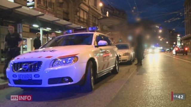 Lausanne: la ville est depuis plusieurs semaines le théâtre de violences nocturnes