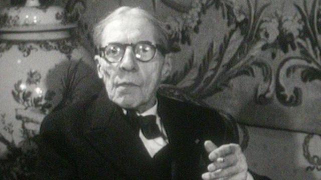 Alfred Cortot en 1959. [RTS]