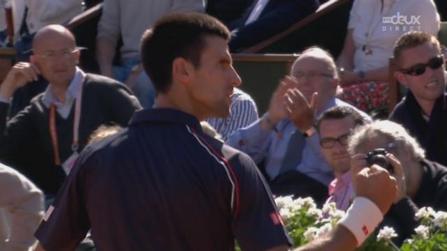 ½ Federer-Djokovic. Mauvaise entame de match pour Roger (6-4).
