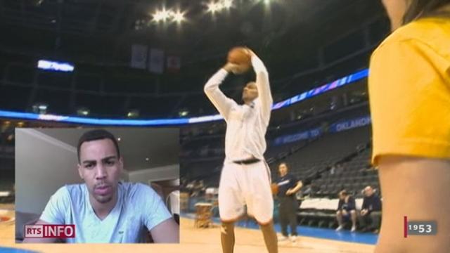 Le Vaudois Thabo Sefolosha entre dans le cercle très fermé des basketteurs atteignant la finale en NBA