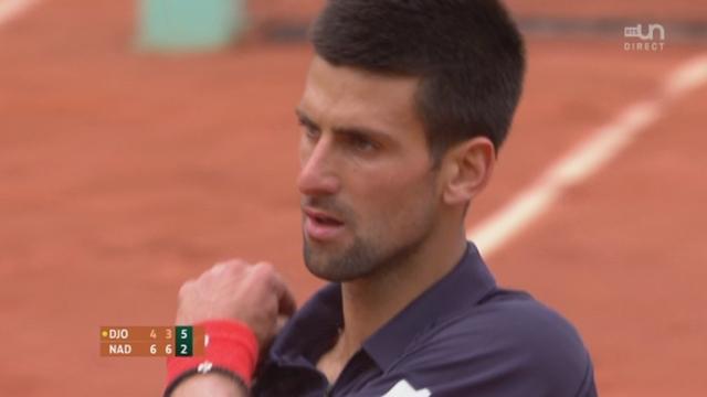 Nadal - Djokovic / Finale: Sursaut d'orgueil de Djokovic qui remporte le 3e set (6-4, 6-3, 2-6)